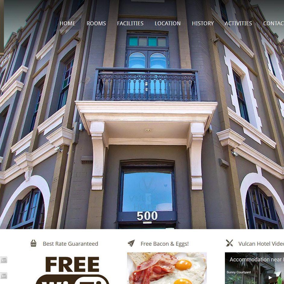 Vulcan Hotel by Webnoise