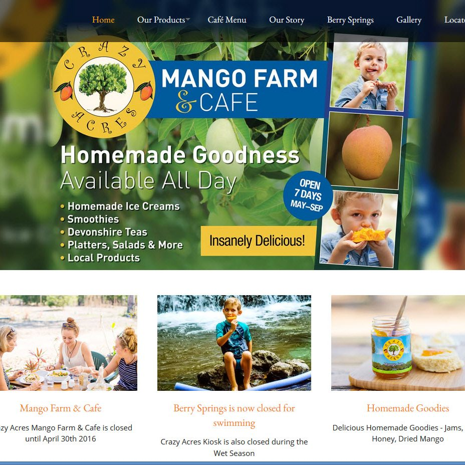 Manago Farm and Cafe CrazyAcres