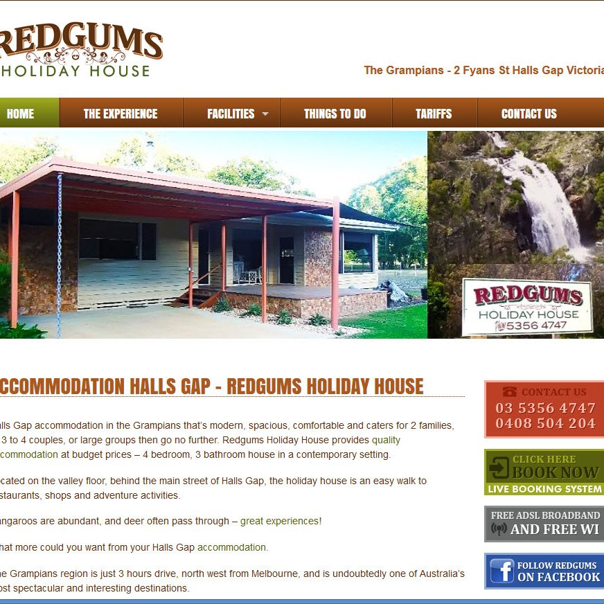 Redgums Holiday House Victoria