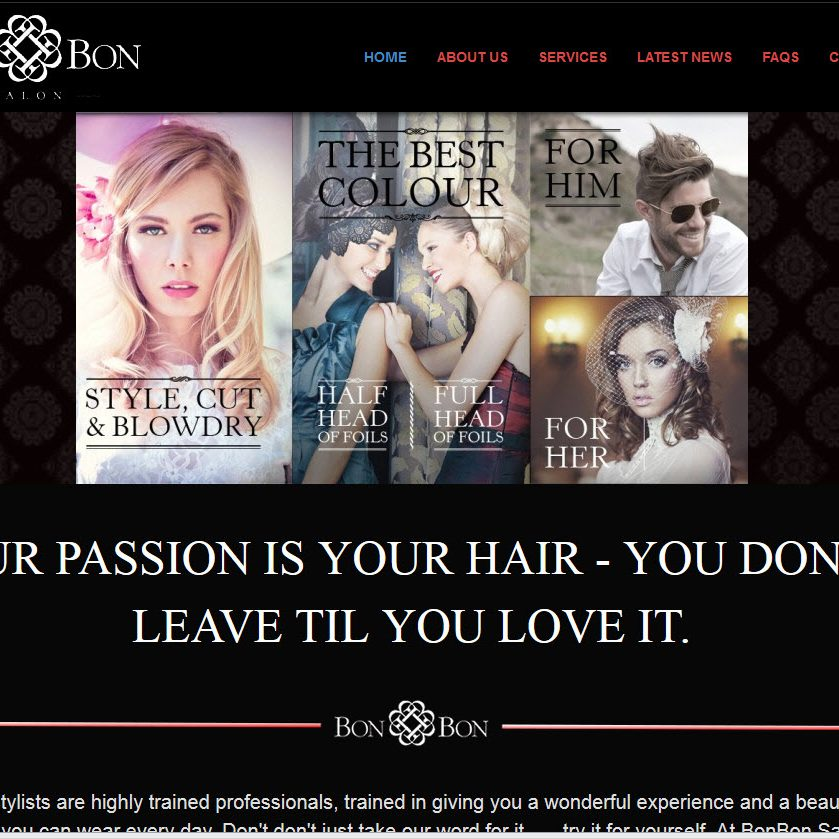 Bon Bon Hair Salon Murwillumbah